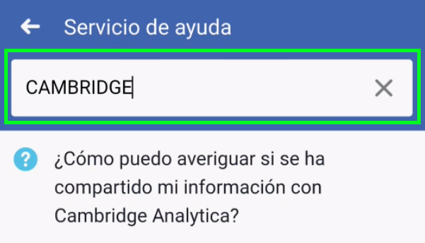 Datos de Cambridge Analytica Fran Bravo
